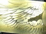 Wings cuff (brass prototype) - 2/2013
